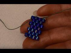 How to Stitch a Peyote Circular Pendant with Miyuki Peyote Beading, Beading Tutorials, Beading Patterns, Tutorial Punto Peyote, Tutorial Anillo, Size 10 Rings, Beaded Rings, Beaded Bracelets, Strands