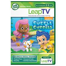 FOR WOLF LeapFrog LeapTV Software - Nickelodeon Bubble Guppies