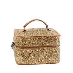 J.Crew Girls' glitter mini overnighte