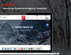 Wintry is a bootstrap multipurpose agency template with 9 predefined professional color scheme **Core Features** Bootstrap 9 Predefined Color Scheme Responsive for all device Easy To Customize Working Contact Form Fontawesome Icon Goog… Bootstrap Template, Working On Myself, New Work, Color Schemes, Behance, Templates, Check, Free, R Color Palette