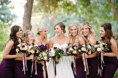 This California wedding at the Fullerton Arboretum is filled with gorgeous plants, trees & flowers! Captured by Acres of Hope Photography, it's a must see.