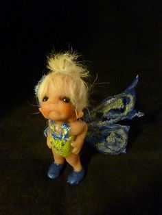 ooak baby miniature Bugle  fairy faerie  woodland sprite by No Tua Lyke