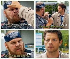 Cas figures out the human emotion of oh crap