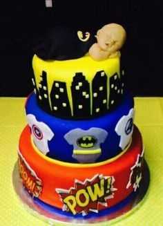 Baby Shower Batman Cake Https://m.facebook.com/avcakeshop?