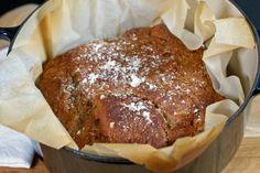 Sukkerfri iskrem med blåbær - Tara Cheat Meal, Frisk, Banana Bread, Pork, Food And Drink, Meals, Baking, Recipes, Pork Roulade