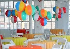 Beach Balls Decorations