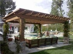 backyard decks and patios pictures | Infinite Construction Custom Patio Covers, Decks and Pergolas Builder ...