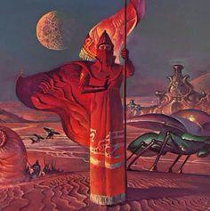 Bruce Pennington Ω The Dune Encyclopedia, 1984 Jodorowsky's Dune, Dune Art, Frank Herbert, Jaguar, Scary Snakes, Science Fiction Art, Sci Fi Fantasy, Sci Fi Art, Psychedelic Art