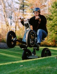 """November 29, 2004 TIME Magazine features Segway's concept 4-wheel ATV    prototype as one of the """"Best Inventions of 2004"""" in its November    issue. This prototype served to showcase Segway's cutting-edge    technology and world-class engineering."""