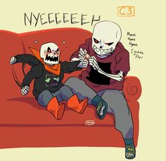 """Who's a baby now the """"Terrible"""" papyrus?? Papyrus: ARRRRRGH"""