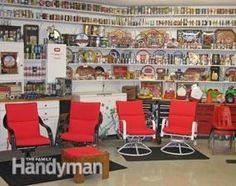 #DIY Man Cave Ideas: http://www.familyhandyman.com/basement/man-cave-ideas