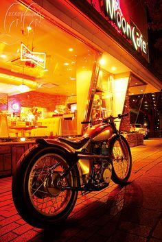 MOON Custom Cycle Shop  #SR #yamaha #motorcycle