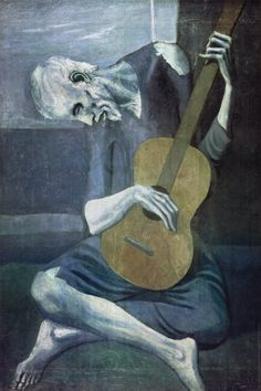 I don't know why, but this reminds me of my childhood.  I know the meaning of this painting; I've read a million bios on Picasso...