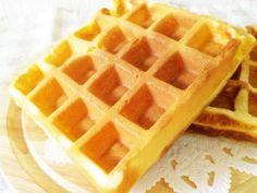 バター不使用*簡単アメリカンワッフルの画像