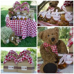 Teddy Bear Picnic - fun summer birthday party idea