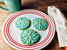 Food Fitness by Paige: Sugar Apple Snowflake Cookies