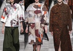 Milan Fashion Week – Fendi Autumn/Winter 2014/2015 – Print Highlights – Part 1 catwalks
