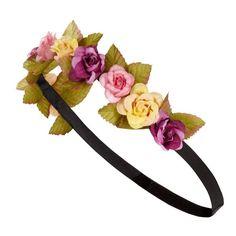 Primark Summer 2013 Flower Headband ❤ liked on Polyvore