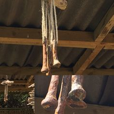 My latest: industrial wind chime: all found objects by the sea!