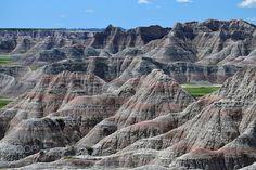 Badlands National Park - Badlands National Park, South Dakota, USA Badlands National Park, National Parks, South Dakota, Grand Canyon, Landscape, Usa, Nature, Travel, Scenery