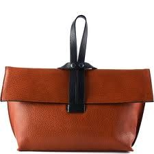 Felucca bag by Hester Van Eeghen. Gorgeous, stunning bags on the whole site. This is my favorite one! Purses And Handbags, Leather Handbags, Leather Bag, Brown Leather, Bags 2017, Beautiful Bags, Clutch Purse, My Bags, Fashion Bags