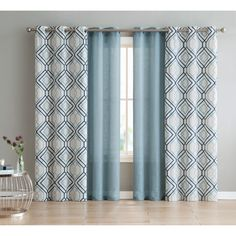 VCNY Home Jackston 4-pack Curtain Panel Set | Overstock.com Shopping - The Best Deals on Curtains