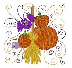 Embroidery Files, Embroidery Applique, Machine Embroidery Designs, Halloween Embroidery, Machine Applique, Free Design, Curly, Thanksgiving, Sewing