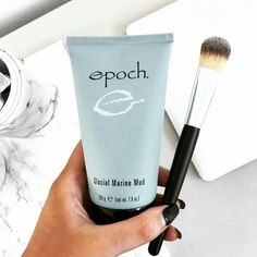 Glacial Marine Mud Mask Get discount for this week only! Epoch Mud Mask, Marine Mud Mask, Glacial Marine Mud, Clay Masks, Blackhead Remover, Natural Cosmetics, Dead Skin, Skin Care, Skin Products