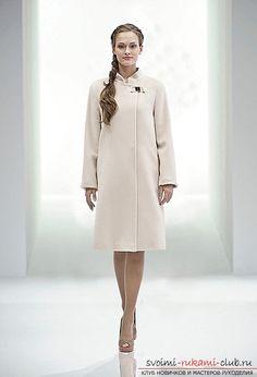 Как сшить женское прямое пальто по профессиональной выкройке своими руками. Пошаговое описание выполняемых действий