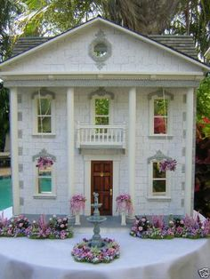 The Mint Julep Dollhouse kit by Real Good Toys and as finished by Robin Carey!  http://robincarey.blogspot.com