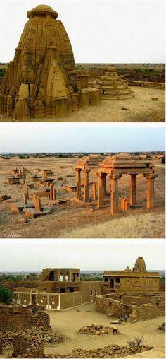Kuldhara el Misterioso Pueblo donde Desaparecieron mas de 1500 Habitantes