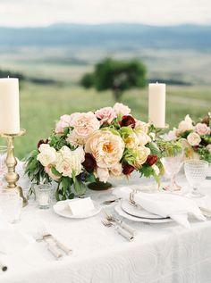 Centerpiece Tabledecor Weddings Fall Wedding Flowers Fl Burgundy