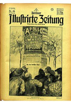 Berliner Illustrirte Zeitung. 17 novembre 1918. Coll. BDIC