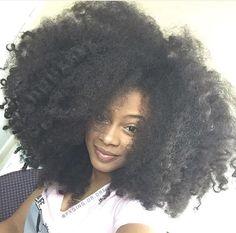 Malaysian Afro Kinky Curly Human Hair Bundles Weft for Black Women Pelo Natural, Natural Hair Tips, Belleza Natural, Natural Hair Styles, Natural Beauty, Kinky Curly Hair, 4c Hair, Curly Hair Styles, Hair Ponytail