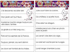 Jeux et ateliers en grammaire - L'école de Crevette