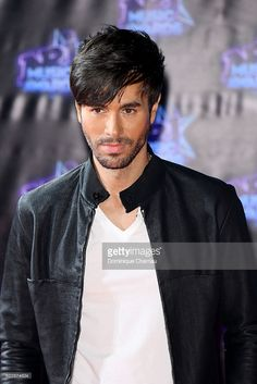 Enrique Iglesias attends the18th NRJ Music Awards - Red Carpet Arrivals at Palais des Festivals on November 12, 2016 in Cannes, France.