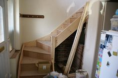 Made to measure 3 kite winder staircase kit (L Shape)   Home, Furniture & DIY, DIY Materials, Stairs   eBay!