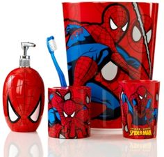 #Disney                   #Other                    #Marvel #Bath #Accessories, #Spiderman #Sense #Trash                          Marvel Bath Accessories, Spiderman Sense Trash Can                            http://www.seapai.com/product.aspx?PID=5519875