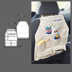 Ryglænspose til bil - STOFF & STIL