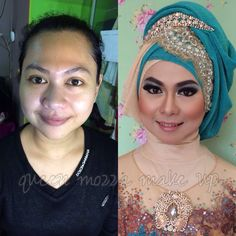 the beauty make up for pre wedding photoshoot