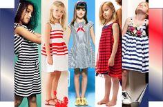 BURBERRY KIDS – CAROLINA HERRERA – FENDI KIDS – JUNIOR GAULTIER – JUNIOR GAULTIER- Tendencias-Verano2015 Resaltando los colores azul marino, el rojo y el blanco, el look marinero es una propuesta tanto casual como festiva, un clásico de los armarios en la época de verano,  nunca pasa de moda. www,elclubdlamoda.com Twitter: @El Club D La Moda #moda #tendencias #fashion #niñas #infantiles