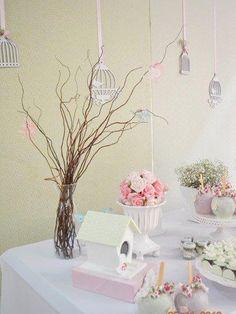 Little Company Big | O Blog: Pássaro bonito temático Batismo por Invento Festa