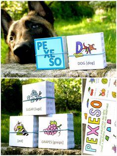 anglické pexeso, zábavné hry a knížky pro děti Fruits And Vegetables, Dogs, Fruits And Veggies, Doggies, Pet Dogs, Dog