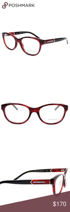 Burberry Eyeglasses Excellent condition  Store display, never worn  52-18-140 Case included Burberry  Accessories Glasses