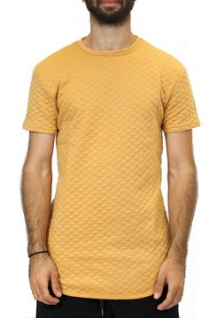 Elongated Quilted Tee in Timber – Fashion X Freedom