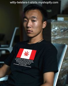 If you're a Canadian pot smoker, then you'll love this version of Oh Canada titled, Oh Cannabis. The verse - with glowing eyes, we see the rise, is about waking and baking, just so you know. You can also get a rise out of this funny marijuana t-shirt every time a stoner reads it. Cannabis is not why Canadians are called crazy canucks, but maybe it should be cannabis canucks now. Buy this funny Oh Canada pot parody t-shirt here: Weed Humor, Just So You Know, Smoking Weed, Adult Humor, Funny Tees, Stoner, Cannabis, Drugs, Tee Shirts