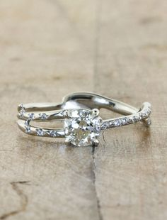 $1735. Lovely and unique. Melinda-White Sapphire