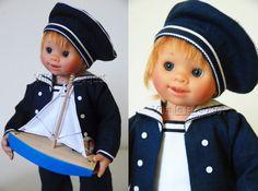 POUPEE ORIGINAL MÜLLER-WICHTEL OLE - poupée de collection de Rosemarie Müller
