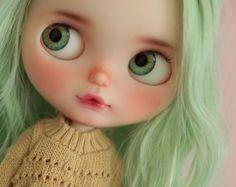 RESERVADOS Norina OOAK Custom Blythe doll