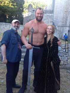 The Mountain actor is winner of World's Strongest Man contest 2014